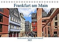 Frankfurt am Main die neue Altstadt vom Taxifahrer Petrus Bodenstaff (Tischkalender 2022 DIN A5 quer): Die Altstadt von Frankfurt wurde neu ins Leben gerufen (Monatskalender, 14 Seiten )