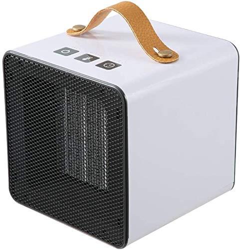 CMmin Tragbare Elektrische Einstellbare Thermostat-Lüfte Raumheizung Mini Heißluftgebläse Tragbare Haushalt Kleiner Schnell-Hot Electronic Smart Square Indoor-Raum