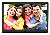Digital Photo Frame With 32GB SD Card Kenuo 10 Inch 1920x1080 High Resolution
