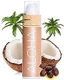 COCOSOLIS Aloha - Huile bronzante chocolat, huile Bio pour un bronzage naturel - Crème pour un bronzage chocolat - Six huiles naturelles pour une peau éclatante - 110 ml