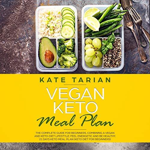 Vegan Keto Meal Plan audiobook cover art