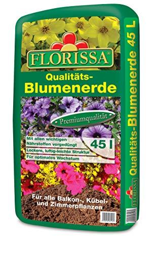 Blumenerde 45 Liter Florissa Qualitätserde