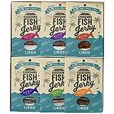 MARGARITA1991(マルガリータ1991) 夢珍味 鹿児島のお魚スモークジャーキーセット お魚スモークジャーキー カンパチ 12g×3種、きびなご10g×3種