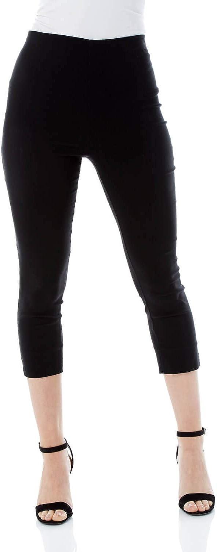 Roman Originals Women Capri Genuine Pants Stretch Trouser Cropped 2021 new Leggin