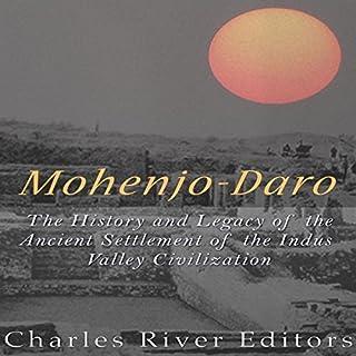 Mohenjo-daro audiobook cover art