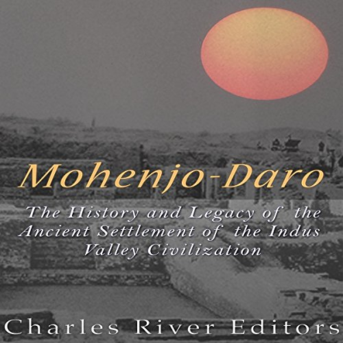Mohenjo-daro audiobook cover art