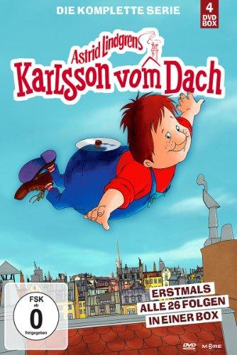 Karlsson vom Dach - Die komplette Serie [4 DVDs]