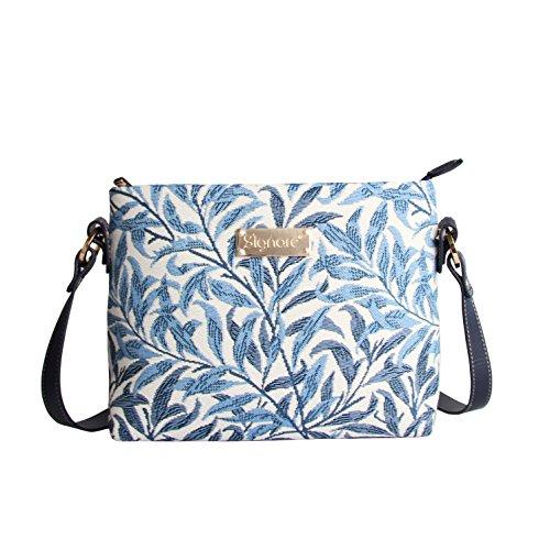 Signare Tapestry Arazzo Borsa a Tracolla Donna, borsa a spalla donna, Crossbody bags con William Morris Designs (Willow Bough)
