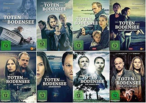 Die Toten vom Bodensee - 1-8 DVD Set