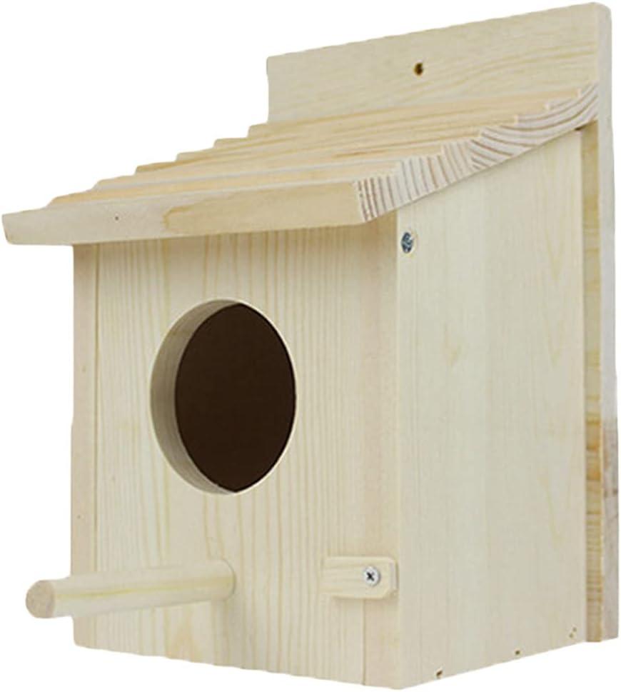 Gifts PetPhindU Bird Weekly update Nest Natural Solid Decorative Wood Bir