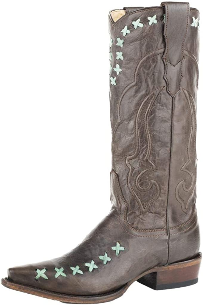 Branded goods Stetson Western Boots Womens Wren 12-021-6105-1282 Portland Mall B 13