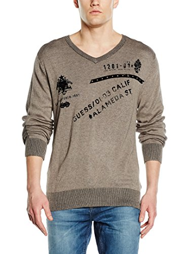 Guess Pull Homme Fiorenziano Gris M52r31 - Taille - L