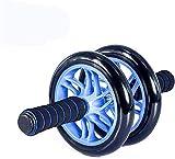 ZHENG Roller Addominali Rullo per Addominali con Asas fáciles de Agarre para la Rueda de Entrenamiento de Rodillos de Ejercicio (Color : Blanco, Talla : Free Size)