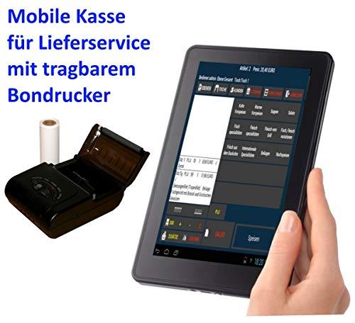 Mobile Kasse Für Lieferservice (Blümen, Getränke, Pizza, usw): 10