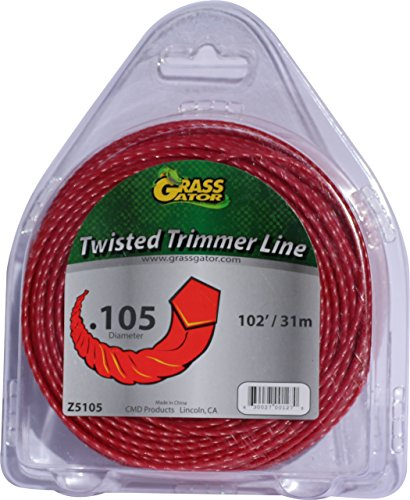 Grass Gator Z5105 Zip String Trimmer Line Pro Small Donut 102-Feet x .105
