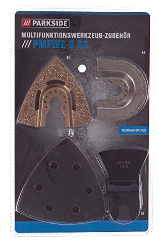 Parkside® Multifunktionswerkzeug Zubehör Set PMFWZ 3 C3 Badsanierung