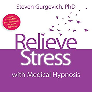 Relieve Stress with Medical Hypnosis audiobook cover art