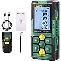 TECCPO Rechargeable Laser Measure Distance Meter