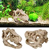 Resina Animal Modelo de Esqueleto Acuario pecera Ornamento Planta Maceta para el hogar Flores Plantas Ornamento