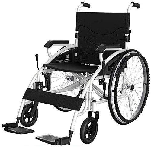 JKCKHA Ultra-Cheap Deals Wheelchair Wheelchair- Folding Lightweight Old famous