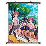 Henanyimeixiang Anime Magique Interdit Livre défilement Mural Affiche Murale Affiche Murale Otaku décor à la Maison 40x60 cm avec Crochet D