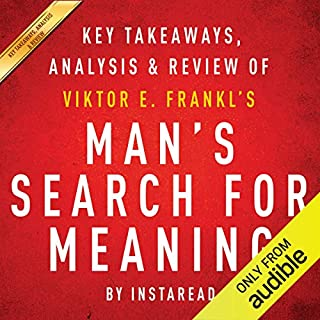Man's Search for Meaning (Audiobook) by Viktor E  Frankl