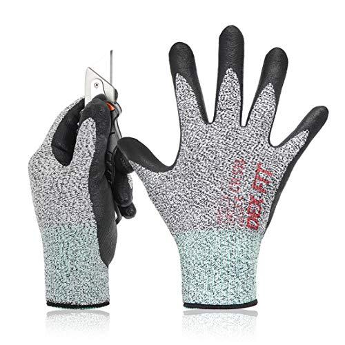 DEX FIT A2 Cut Resistant Gloves CR533, 3D Comfort Stretch Fit