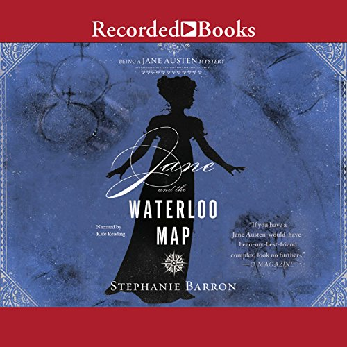 Jane and the Waterloo Map audiobook cover art