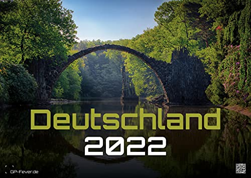 Alemania - un viaje a paisajes y lugares encantadores - 2022 - calendario DIN A2