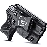 Compatible Ruger LCP 2 Holster, IWB Kydex Holster Fit: Ruger LCP II Pistols, Inside Waistband Concealed Carry Holster for Men / Women, Adj. Cant & Retention, Right Hand Draw