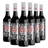 Pico Plata - Pack 6 botellas de 75cl - Vino de licor dulce.