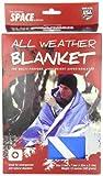 Grabber - Extérieur marque d'origine spatiale All Weather Blanket: Bleu