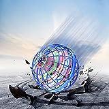 Magic Flying Orb Ball, Flying Orb Boomerang Spinner Drone, Flying Orb Toys, Flying Spinner Con Luces LED Giratorias De 360 ° Para Niños, Adultos, Interiores Y Exteriores