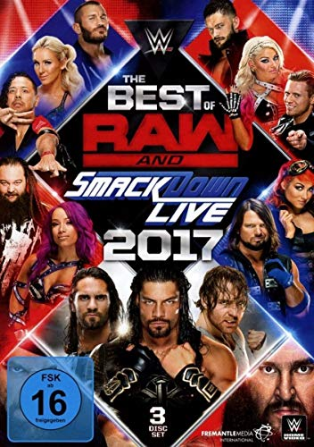 Best of RAW & Smackdown 2017 (3 DVDs)