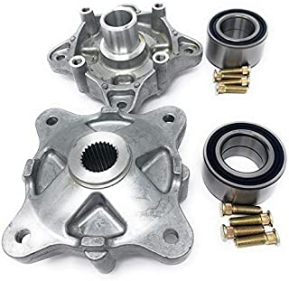 Iconic Racing Rear Wheel Hub Service Kit with Bearings and Studs Both Left and Right Compatible with 08-14 Polaris RZR 800 Replaces Polaris 5135113 7518378 3514635