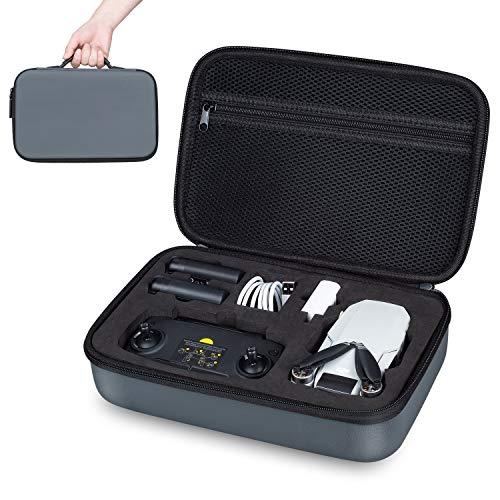 Pashali Funda para DJI Mavic Mini. Ligera y portátil, resistente al agua, a prueba de golpes, funda protectora para dron y funda de transporte de batería con mando a distancia.