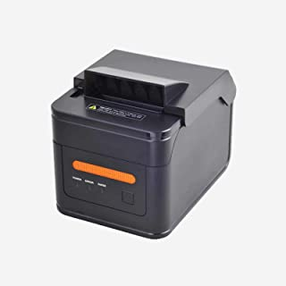 POSTRON 80MM Thermal Receipt Kitchen Printer USB H300L LAN 2048KB Bytes to Avoid Order Missing ESC/POS With Order Reminder Waterproof Oilproof