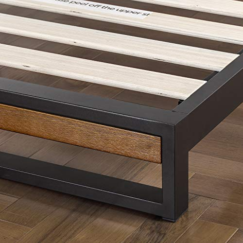 Zinus Suzanne Modern Platform Mattress Frame with Headboard