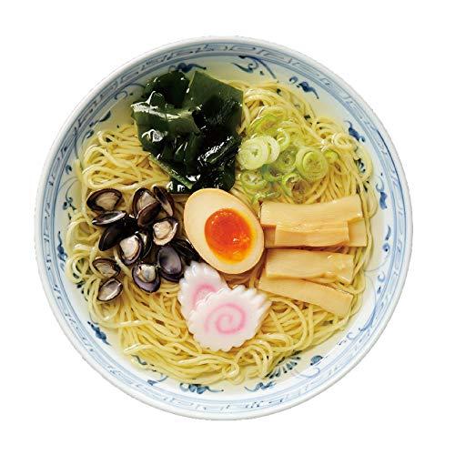 高砂食品 青森しじみラーメン 塩味 家庭用15食入り(5食×3パック) 半生麺【常温保存可能】