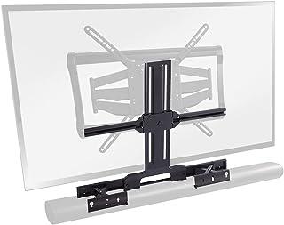SANUS Soundbar TV Mount Designed for Sonos Arc Sound bar - Height & Depth Adjustable for Dolby Atmos - Universal Compatibi...