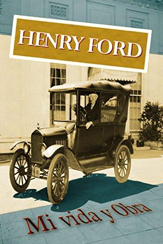 Portada del libro Henry Ford. Mi vida y obra de Henry Ford