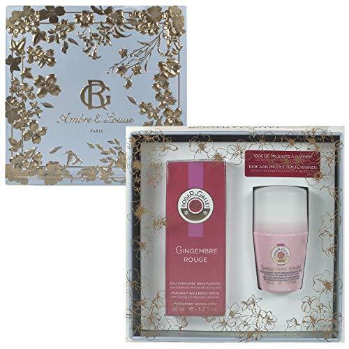 RogeR & GALLET GINGEMBRE ROUGE Set 50 ml Eau Fraiche Parfum + 50 ml Deodorant Stick (1er Pack)