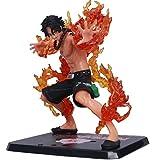 Qiujiam One Piece Action Figure Rufy/Shanks/Ace/Sabo Figure One Piece Resin Figura Bambola Giocattolo - Regalo di Compleanno per Bambini di Natale