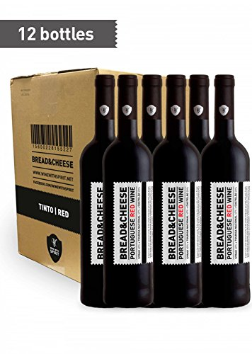 Bread&Cheese Red Wine- 75 cl (x 12 bottles)