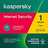 Kaspersky Internet Security 2021 | 1 Device | 1 Year | PC/Mac/Android | Online Code
