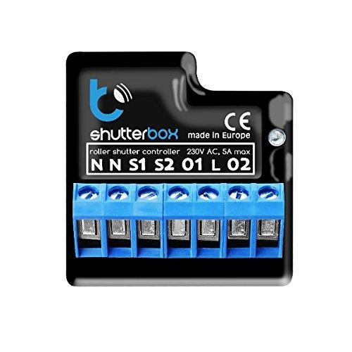 Control remoto inalámbrico de persianas eléctricas, toldos, pantallas ShutterBox