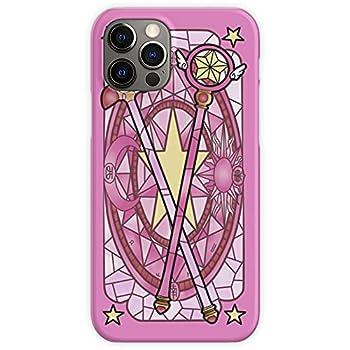 Sakurakinomoto Pink Anime Desing Wand Cardcaptor Sakura - Phone Case for All of iPhone 12 iPhone 11 iPhone 11 Pro iPhone XR iPhone 7/8 / SE 2020 - Customize