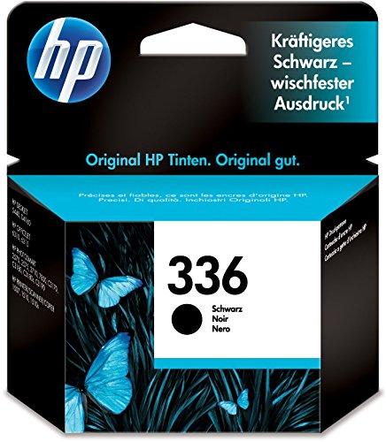 HP 336 Schwarz Original Druckerpatrone für HP Deskjet, HP Officejet, HP Photosmart
