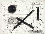 Joan Miro Giclee Papel de Arte impresión Obras de Arte Pinturas Reproducción de Carteles(Litografia i) #XZZ