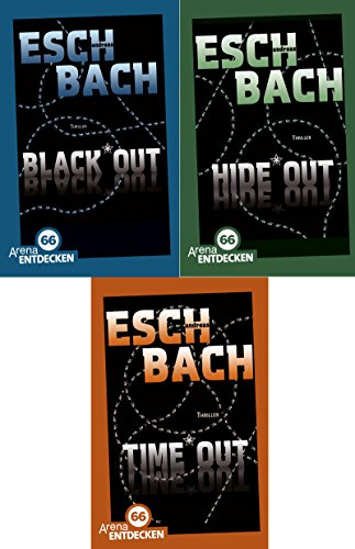 Blackout-Trilogie von Andres Eschbach in limitierter Sonderausgabe: Black*Out + Hide*Out + Time*Out